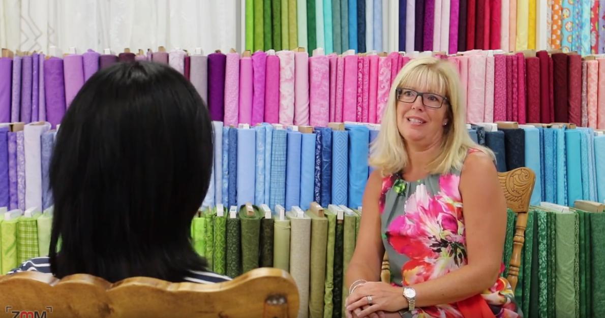 Marie-Chantal Giguère de Paquette Textiles nous dévoile la phrase-clé qui la motive à suivre sa passion : « Le plus grand des plaisirs, c'est de faire ce que les autres disent qu'on ne peut pas faire ».